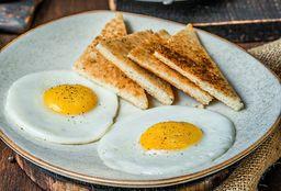 Huevos Fritos con Tostadas