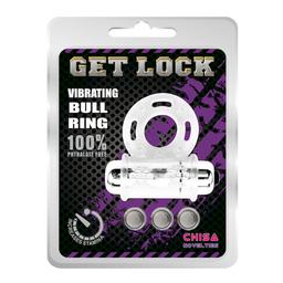 Anillo Vibrador Chisa Get Lock Pilas Intercambiables 1 U