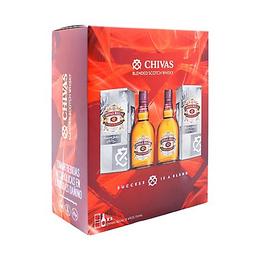 Chivas Regal Chivas 12Yo 750 Ml + 12 Años