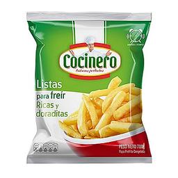 Cocinero Papa Pre Frita