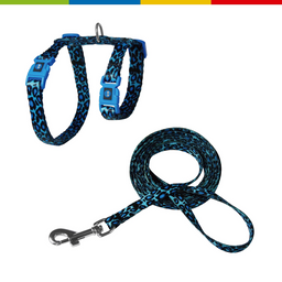 Doco Loco Cat Harnes + Leash 6Ft (Dcat2021072-O2)