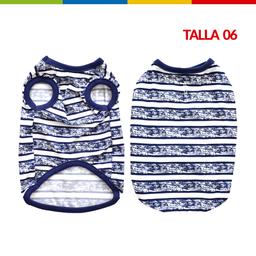 Boga Bibidi Rayas Azul Macho Talla 06 (Cm0262A-06 )