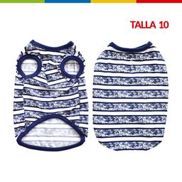 Boga Bibidi Rayas Azul Macho Talla 10 (Cm0262A-10 )
