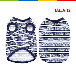Boga Bibidi Rayas Azul Macho Talla 12 (Cm0262A-12 )