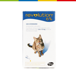 Revolution Gato (6% X 0.75 Ml) X 1 Pipeta (62723)