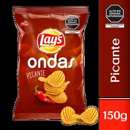Lays Ondas Picante 150 Gr