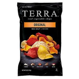 Real Vegetable Chips Sea Salt X 192 Gr