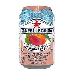San Pellegrino Agua Gasific Naranja Tuna