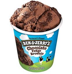 Helado Con Pedazos De Brownie Ben&Jerry X 473 Ml