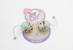 Juguete Para Gato Hartz Jfc Bell Mouse 1 U
