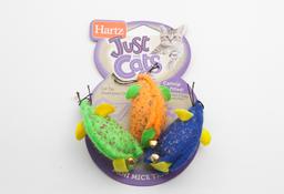 Juguete Para Gato Mini Mice Trio 1 U