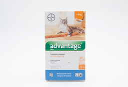 Advantage Hasta 4 Kg. Antipulgas Y Garrapatas