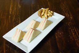 Sándwich Triple Mixto
