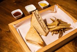 Sándwich Triple de Pollo
