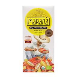 Maraná Tabla De Chocolate Dark 70% Cacao