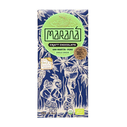 Maraná Tabla de Chocolate San Martín Dark 80% Cacao