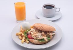 Desayuno Clásico de Pollo