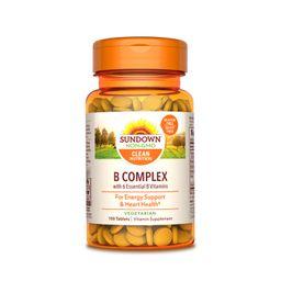 Vitamina B Complex 1 100 Tabletas