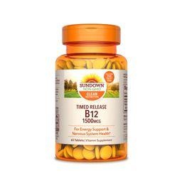 Vitamina B12 60 Tabletas 1500 mcg