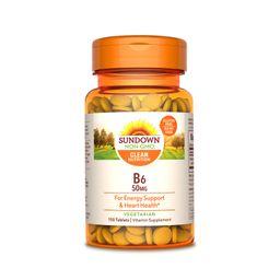 Vitamina B6 150 Tabletas 50 mg