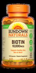Vitamina Biotin Veg 120 Capsula 10.000 mcg