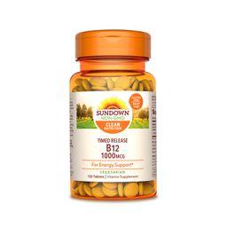 Vitamina Vit B-12 T R 120 Tabletas 1000 mcg
