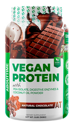 Vitamina Abouttime Vegan Protein Chocolate 2 Lb