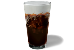 Cold Brew Caramel on the Rocks