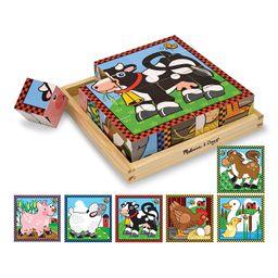 Rompecabeza Cubo 9 Piezas Granja