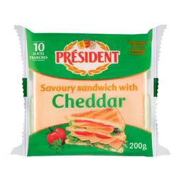 Queso Cheddar President