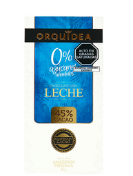 Orquídea Choco Leche 45%Cacao Sinazu