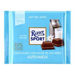 Chocolate Ritter Sport Alpenmelk 30% Cacao 100 g