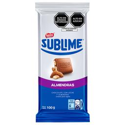 Chocolate Nestle Sublime 100Gr