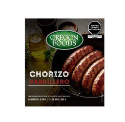 Chorizo Parrillero X 120G Oregon Foods