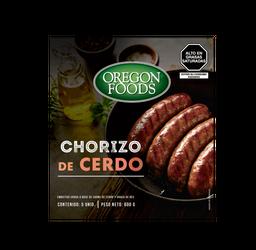 Chorizo De Cerdo X 120G Oregon Foods