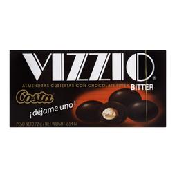 Chocolate Vizzio Bitter 72 Gr Costa