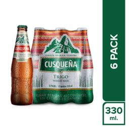 Cusque�a Six pack Trigo Botella 330ml