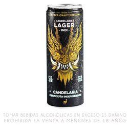 Cerveza Candelaria Indi Lager Lata 355 Ml X 04 Unidades