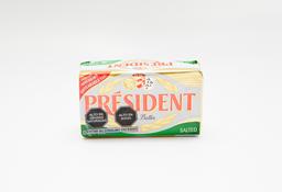 Mantequilla President Con Sal