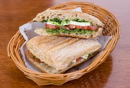 Sándwich el Caprese