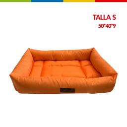 Cama Rectangular Naranja Talla S (Qs116123S)