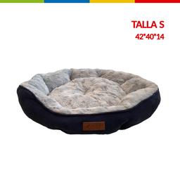 Cama Semi Ovalada Azul Talla S (Qs133003S)