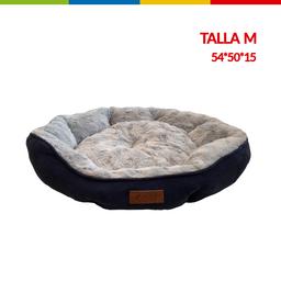 Cama Semi Ovalada Azul Talla M (Qs133003M)