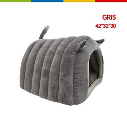 Cama Cueva Gato Color Gris (Qs154002)