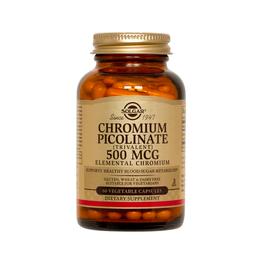 Chromium Picolinate 500Mg 60 Cap