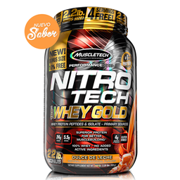 Nitro Tech 100% Whey Gold Dulce De Leche 2.2Lb