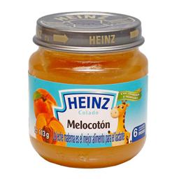 Compota Frutas Melocoton 113 Gr Heinz