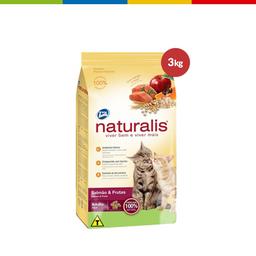 Naturalis Gatos Adultos Salmao&Frutas 3Kg (1105019)