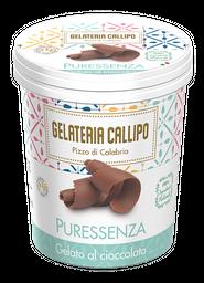 Helado Gelateria Callipo de Chocolate Con Ron 500 mL