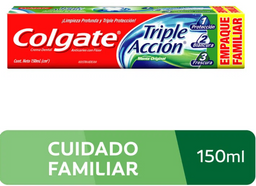 Colgate Crema Dental Triple Acción
